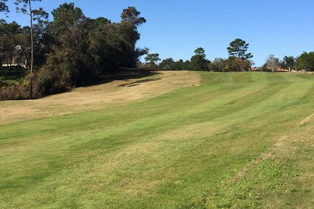 A view of a fairway at DeBary Golf & Country Club