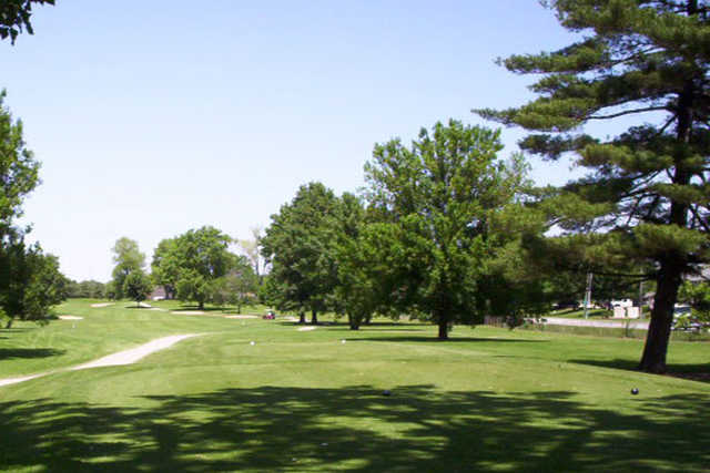 A view from a tee at  Sahm Golf Course