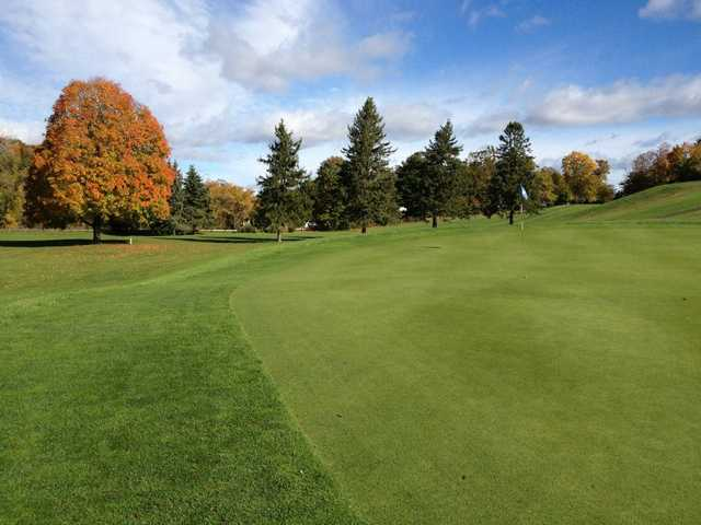 A fall view from  Indian Springs Golf Club