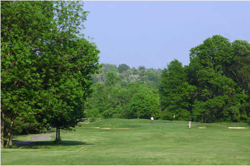 A view from the 15th fairway at Fairway Hills Golf Club