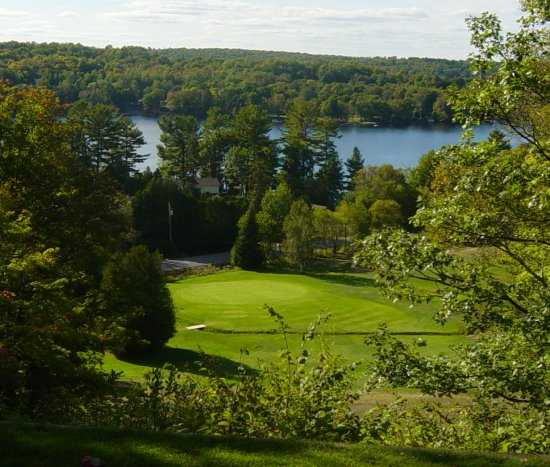A view of the 8th hole at Haliburton Highlands Golf Course (Gowdy)