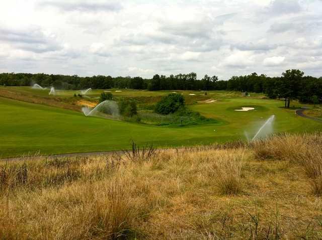 A view of a fairway at Eagle Ridge Golf Club