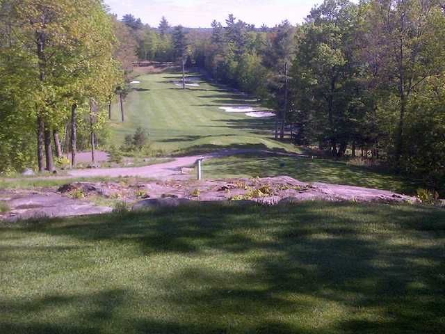 A view from a tee at North Granite Ridge Golf Club