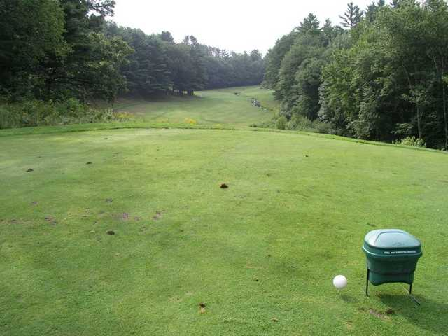 A view from tee #11 at Ellinwood Country Club
