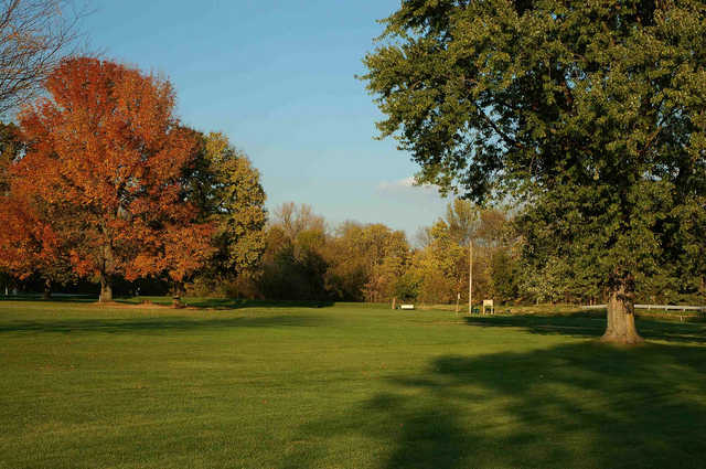 A view from a fairway at West Lafayette Golf & Country Club