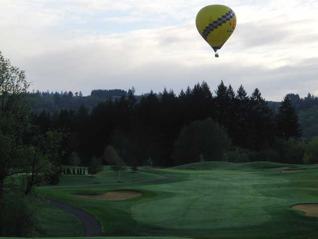 A view from Chehalem Glenn Golf Club