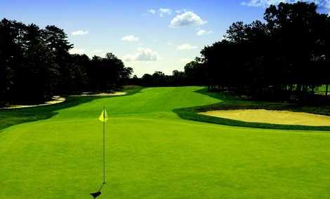 A view of a green at Pine Ridge Golf Club
