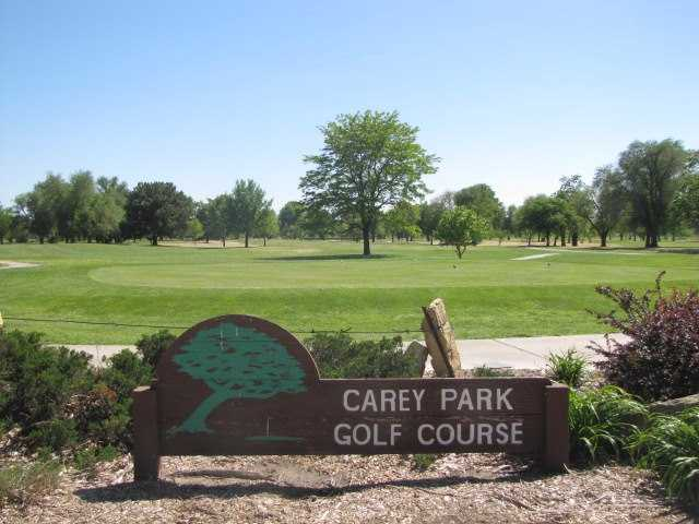 A view from Carey Park Golf Course