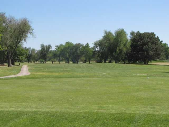 A view of a fairway at Carey Park Golf Course