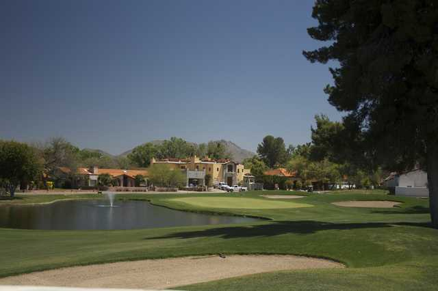 Tubac Golf Resort: View from Otero #9