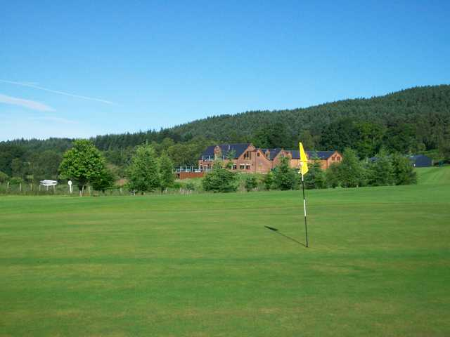 View of a green at Aboyne Loch Golf Centre