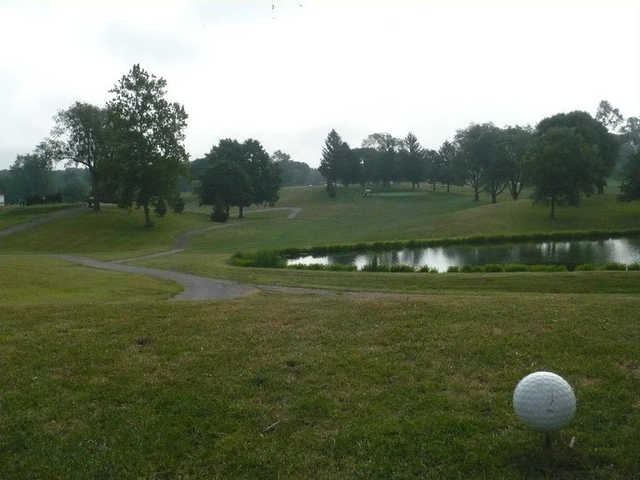 A view from a tee at Grandview Golf Course