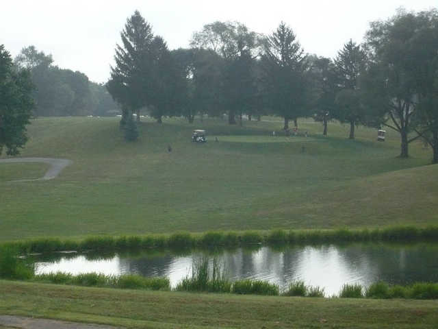 A view over the water from Grandview Golf Course