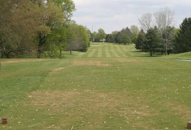 A view from the 2nd tee at Plymouth Country Club