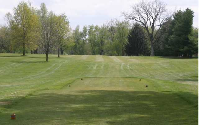 A view from tee #15 at Plymouth Country Club
