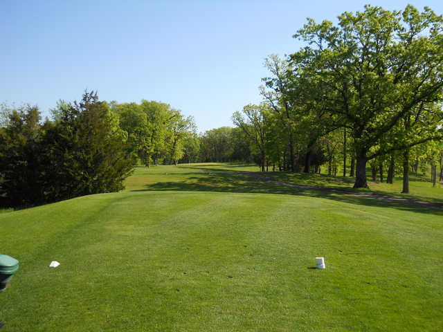 A view from the 16th tee at Kimball Golf Club