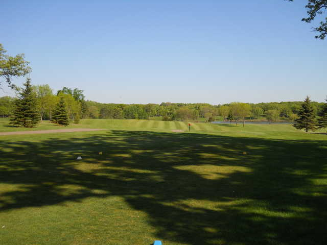 A view from the 13th tee at Kimball Golf Club