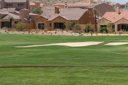 A view from Sand Wedge Golf Course