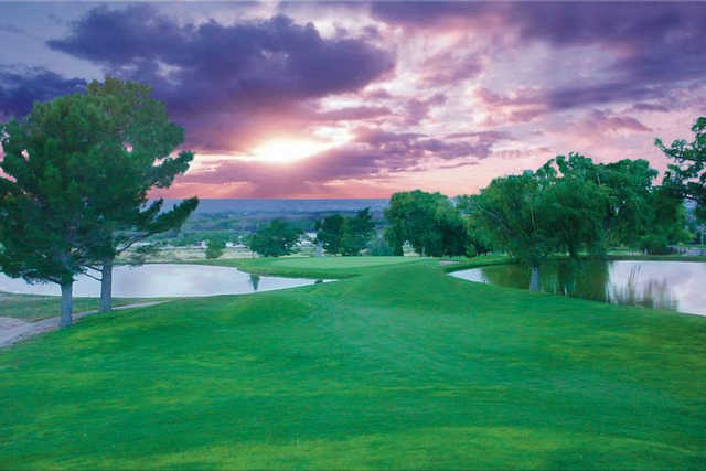 A view from the 7th tee at Tierra Del Sol Golf Course