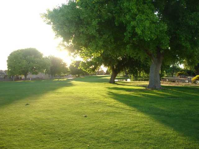 A sunny day view from Tierra Del Sol Golf Course
