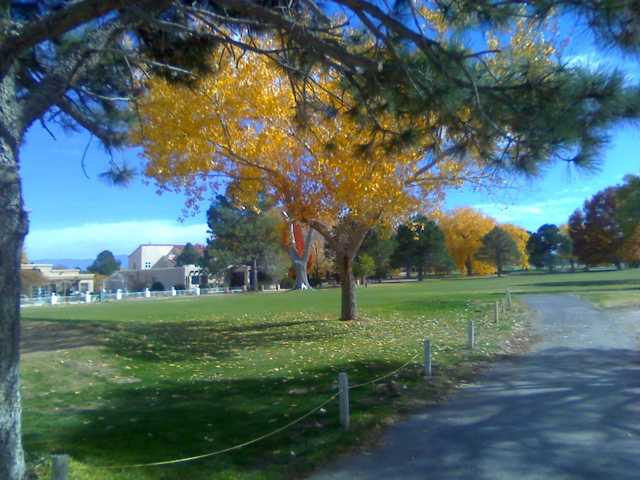 A fall view from Tierra Del Sol Golf Course