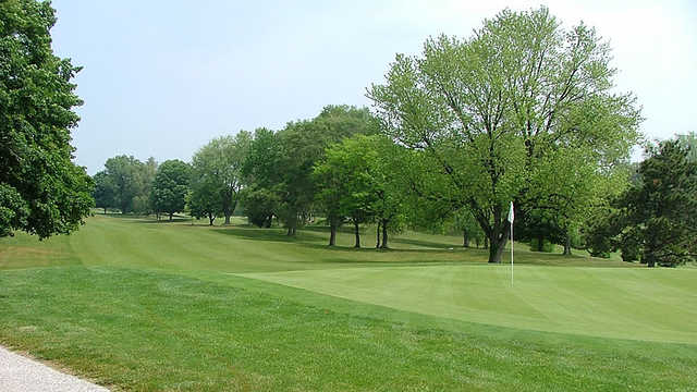 A view of the 3rd green at Legacy Hills Golf Club