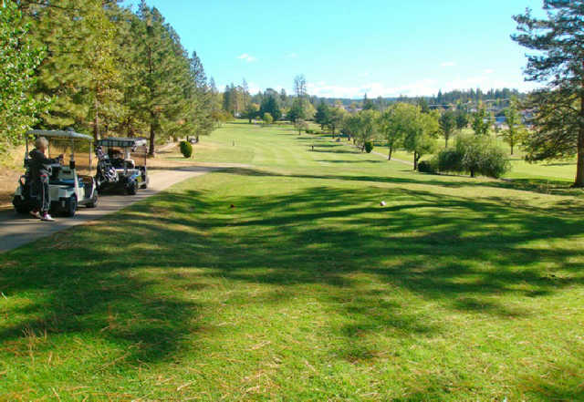 A sunny day view from Nevada County Country Club