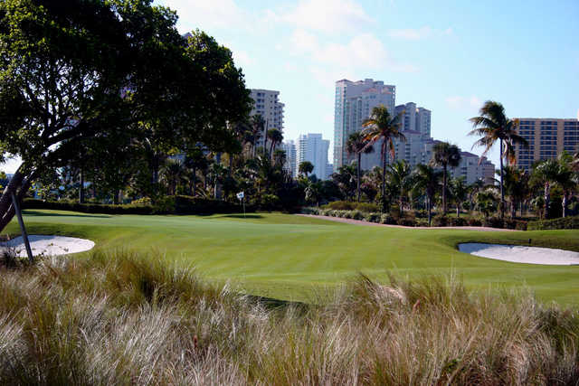 A view from Turnberry Isle Country Club