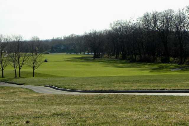 A view of a fairway at Staley Farms Golf Club