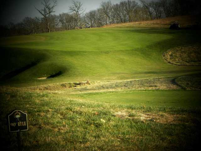 A view from Staley Farms Golf Club