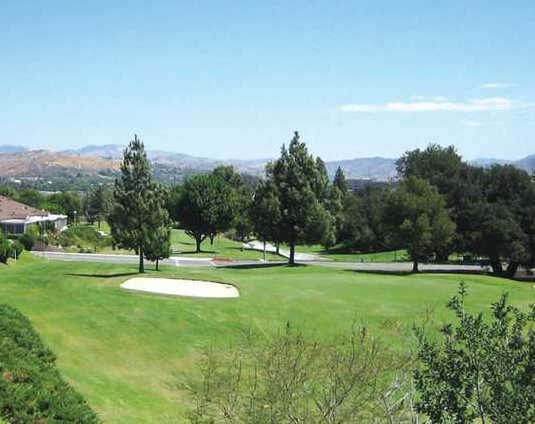 A view from Friendly Valley Golf Course