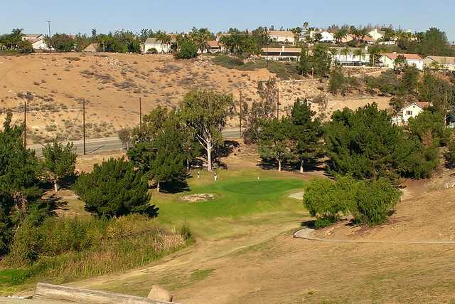A view of a green at Cresta Verde Golf Club (Swingbyswing)
