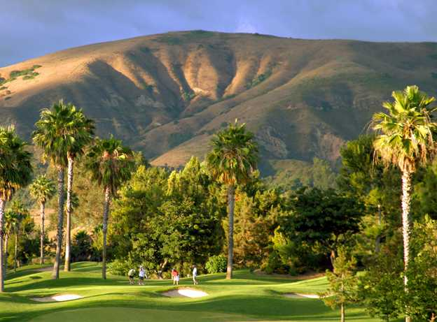 A view from Tustin Ranch Golf Club