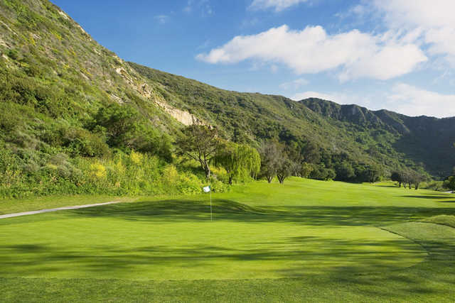 A view of the 3rd hole from Ben Brown's Golf Course at The Ranch Laguna Beach