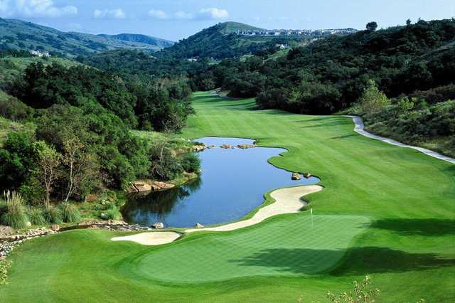 A view of a hole at Dove Canyon Country Club
