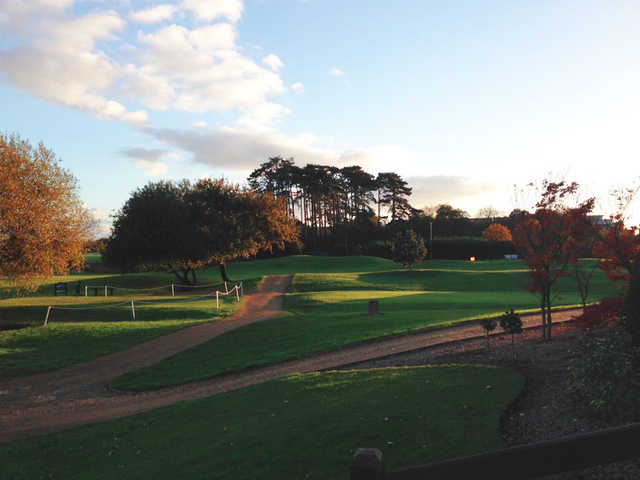 A fall view from Playgolf Bournemouth