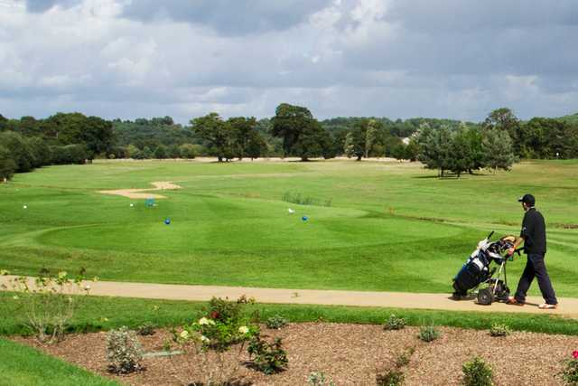 A view of a tee at Playgolf Bournemouth