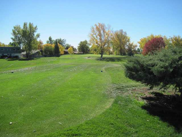 A fall view from Greenway Park Golf Course