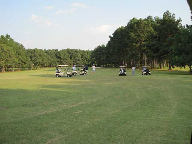 A view of a fairway at Jefferson Country Club