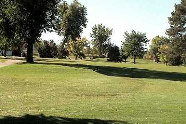 A view from Harvard Gulch Golf Course
