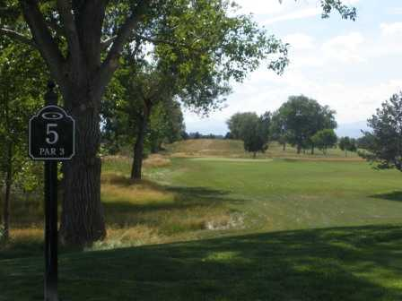 A view of the 5th fairway at Junior Par-3 Course from CommonGround Golf Course