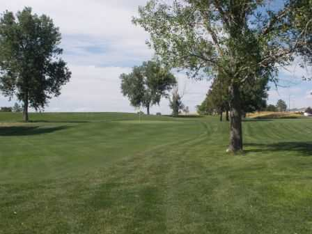 A view of fairway #9 at Junior Par-3 Course from CommonGround Golf Course