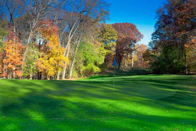 A fall view from Rock Creek Golf Course