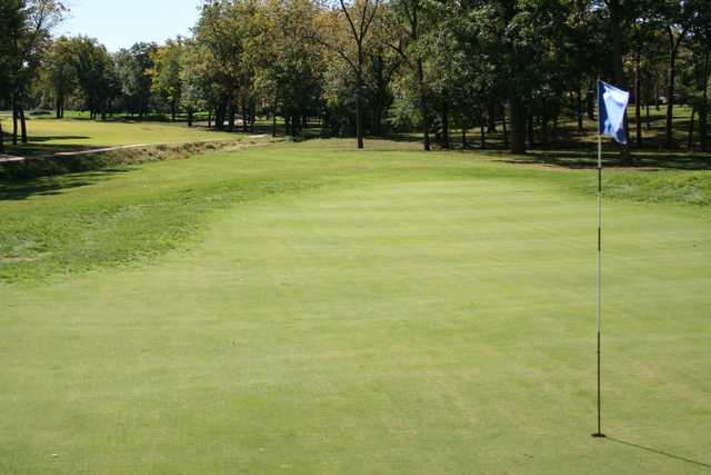 A view of the 9th hole at Berkshire Country Club