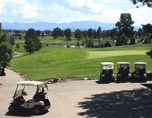 A view from Pagosa Springs Golf Club