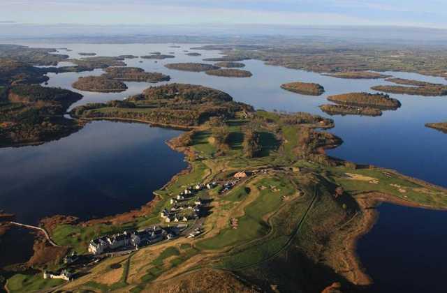 Lough Erne Resort - Aerial View