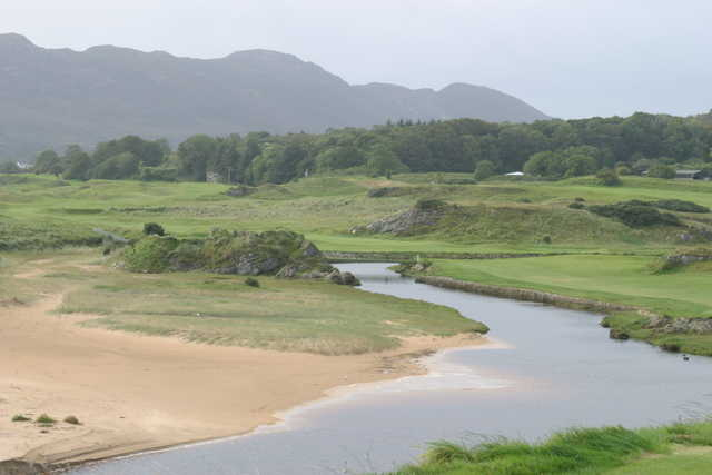 The second hole at Portsalon Golf Club is celebrated as one of the best par 4s in Ireland