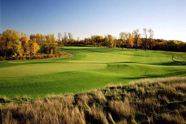 A view of hole #10 at Waverly Woods Golf Course