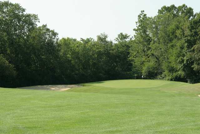 View of a green at Turtle Run Golf Club