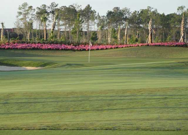 View of a green at Esplanade Golf and Country Club of Naples